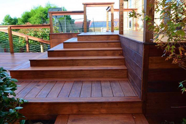 Decking and screening